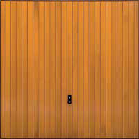 Hormann Series 2000 timber up and over garage doors Style 2009 Vertical